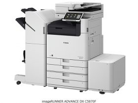 キヤノン、オフィス向け複合機「imageRUNNER ADVANCE DX」3シリーズなど10モデル