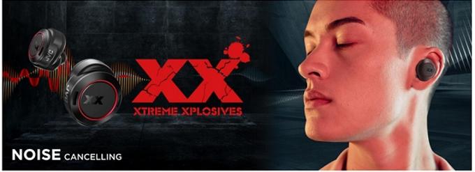 JVCケンウッド、「XX(XTREME XPLOSIVES)」シリーズ最上位モデルの完全ワイヤレスイヤホン