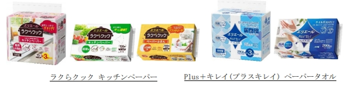 大王製紙、「Plus+キレイ ペーパータオルコンパクトタイプ」など