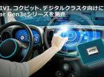 ルネサス、コクピット・デジタルクラスタ向けにR-Car Gen3eシリーズ