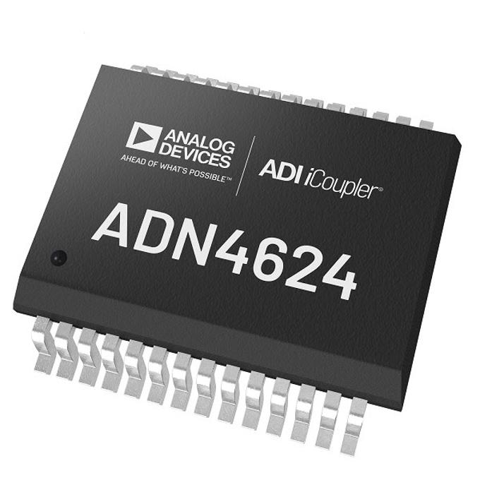 アナログ・デバイセズ、10GbpsのiCouplerデジタル・アイソレータ製品「ADN4624」