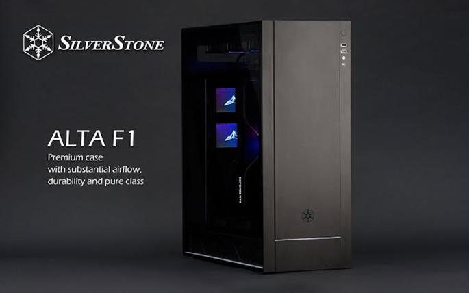 テックウインド、SilverStone 最上位PCケースシリーズ ALTA F1