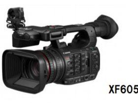 キヤノン、業務用4Kビデオカメラ「XF605」