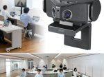 サンワサプライ、デュアルレンズ搭載で180度の広い視野角を可能にした会議用カメラ