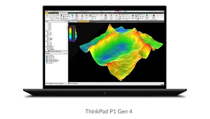 レノボ・ジャパン、16.0型プレミアムモバイルワークステーション「ThinkPad P1 Gen 4」