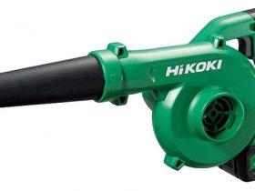 工機HD、「HiKOKI(ハイコーキ)」からコードレスブロワRB 18DC