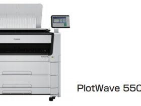 キヤノンMJなど、広幅デジタルモノクロ複合機「PlotWave 5000/5500」