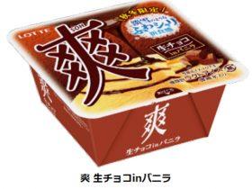 ロッテ、アイス「爽 生チョコinバニラ」