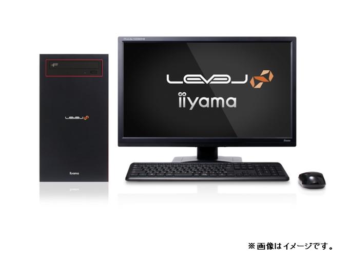 ユニットコム、iiyama PC「LEVEL∞」よりAMD Radeon RX 6600 XT搭載のゲーミングPC