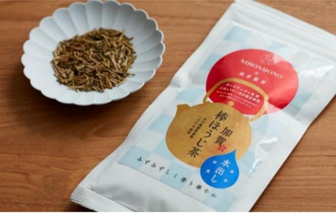 ポッカサッポロ・にほんもの・油谷製茶、「水出し 一番焙煎 加賀棒ほうじ茶(にほんものエディション)」