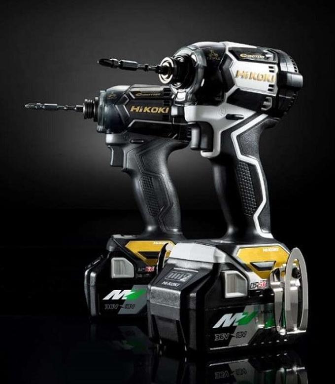 工機HD、「HiKOKI(ハイコーキ)」からコードレスインパクトドライバの限定色モデル