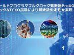 ルネサス、TCXOを内蔵したフィールドプログラマブルクロック発振器「ProXO+ファミリ」