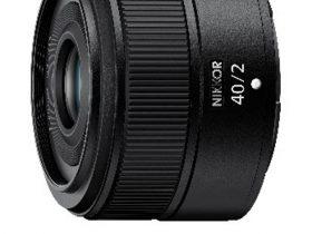 ニコンイメージングジャパン、「ニコン Z マウントシステム」対応単焦点レンズ「NIKKOR Z 40mm f/2」