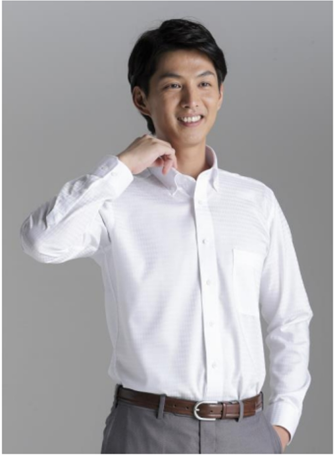 青山商事、形態安定シャツ「ノンアイロンマックス」(メンズ)にストレッチ性を付加し「洋服の青山」全店で発売