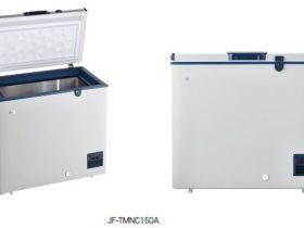 ハイアールジャパンセールス、マイナス50℃超低温冷凍の150L 上開き式冷凍庫(JF-TMNC150A)