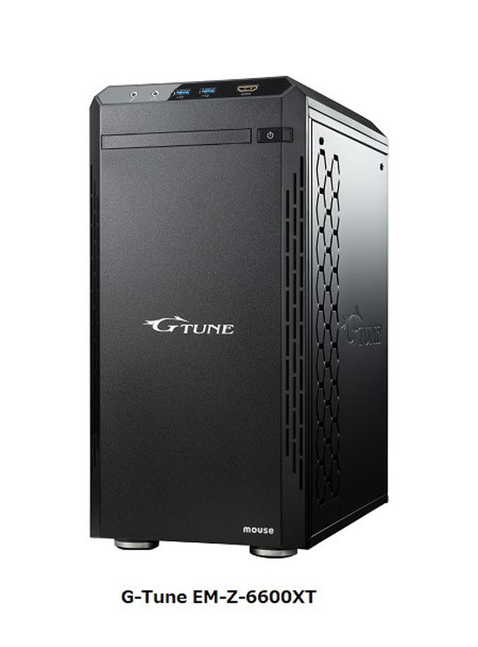 マウスコンピューター、G-TuneからAMD Radeon RX 6600 XT搭載のゲーミングデスクトップPC