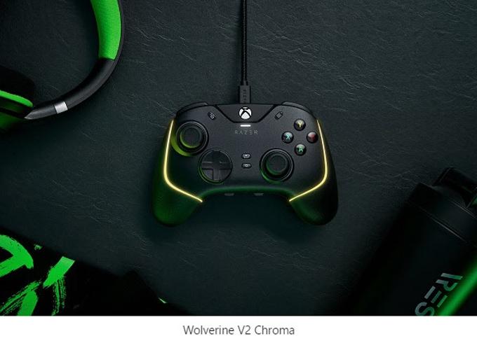 Razer、PC・Xboxシリーズ対応のコントローラー「Razer Wolverine V2 Chroma」など