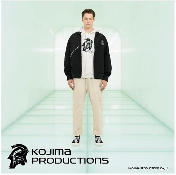 ジーユー、ゲームクリエイター 小島秀夫氏が率いる「KOJIMA PRODUCTIONS」とのコラボコレクション