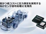 ルネサス、高精度かつ低コストに圧力測定を実現する車載向けセンサ信号処理IC「RAA2S425x」ファミリ