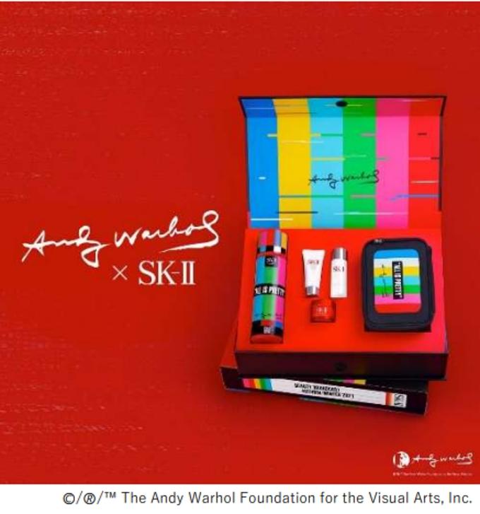 P&Gプレステージ、「SK-II」から「ピテラエッセンス アンディ・ウォーホル限定版コフレ」