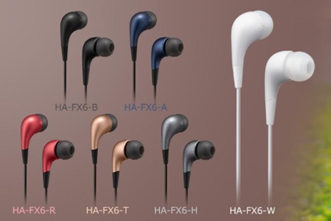 JVCケンウッド、エントリーモデルのインナーイヤーヘッドホン「HA-FX6」