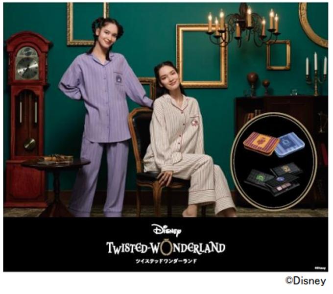 ジーユー、「ディズニー ツイステッドワンダーランド」デザインのファッションコレクション