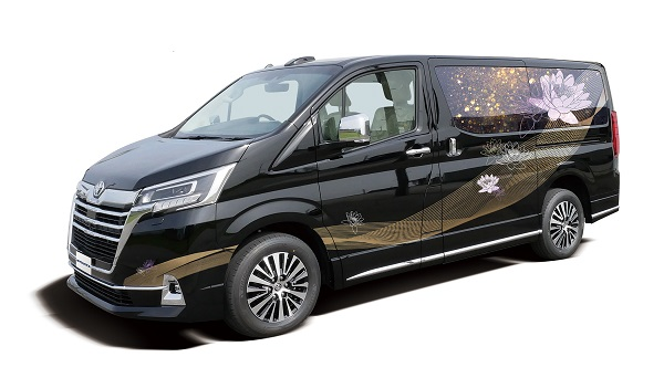 光岡自動車、新型霊柩車「グランエースエボリューション」