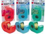 ニチバン、「セロテープ 小巻カッターつき<まっすぐ切れるタイプ>」新色3色を発売