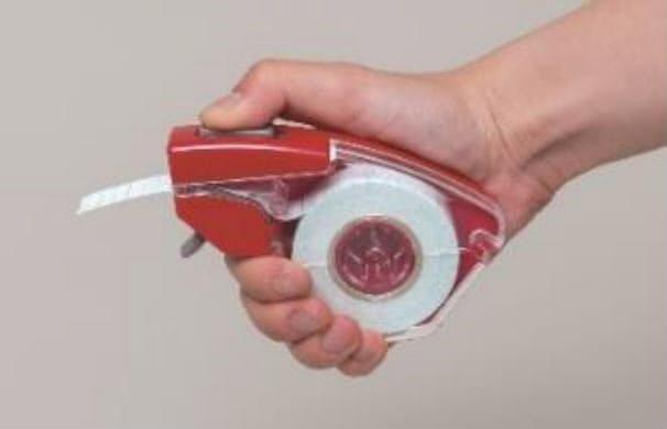 ニチバン、片手で使えるテープカッター「ナイスタック プッシュカット」「マスキングテープ プッシュカット」を発売
