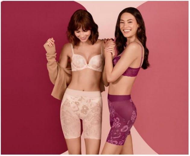 トリンプ、シェイプウェアシリーズ「Fashion Shape」の新作を発売