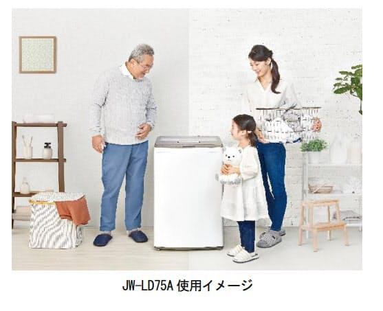 ハイアールジャパンセールス、7.5kg全自動洗濯機「JW-LD75A」を発売