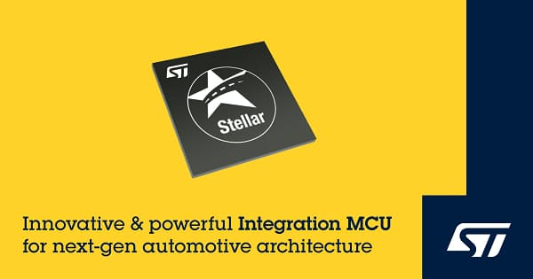 STマイクロ、次世代ドメイン/ゾーン・アーキテクチャ向けの車載用マイコンを発表