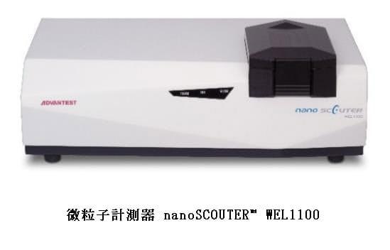 アドバンテスト、微粒子計測器「nanoSCOUTER」が新型コロナウイルスの短時間での識別に有効であると確認