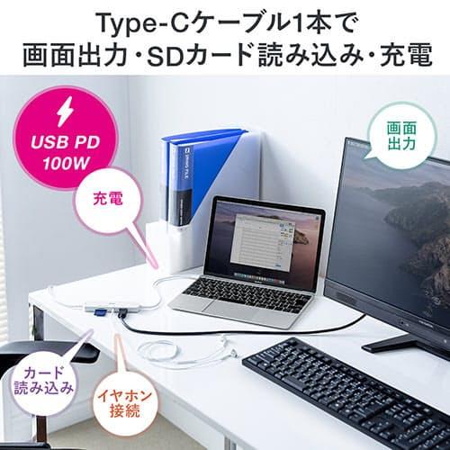 サンワサプライ、SDカードやHDMIポートなどを搭載の多機能カードリーダー「400-ADR326W」を発売