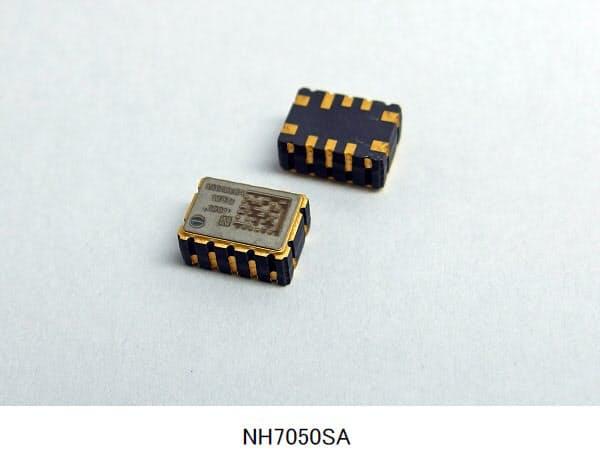 日本電波工業、5G基地局向け高温対応(+95℃)の7×5mmサイズOCXO(恒温槽付水晶発振器)を開発