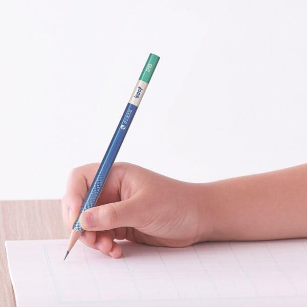 トンボ鉛筆、学童向けに消しゴムでさらっと消える濃い鉛筆「ippo!(イッポ)きれいに消えるかきかたえんぴつ」を発売
