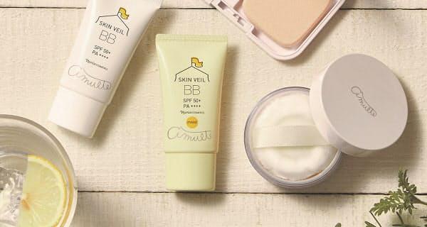 ナリス化粧品、ベースメークブランド「アミュルテ」からBBクリーム「アミュルテ スキンベール BB モイスト」を発売