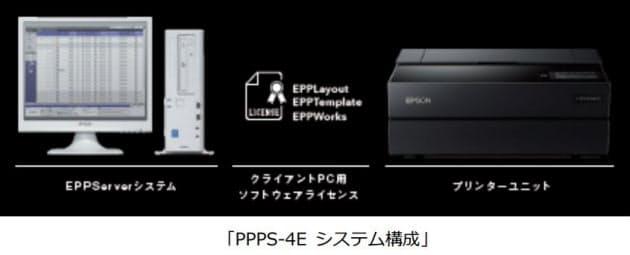 エプソン販売、写真館向けプリンティングシステム「PPPS-4E」を発売