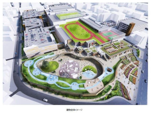 三井不動産・九州電力・西鉄、「(仮称)福岡市青果市場跡地活用事業」建築を着工