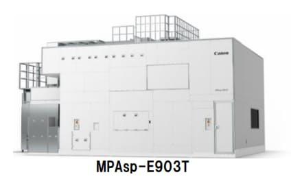 キヤノン、FPD露光装置「MPAsp-E903T」を発売