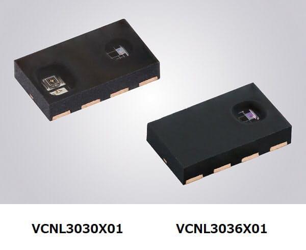 ビシェイ、完全一体型車載グレード近接センサー2種を発表