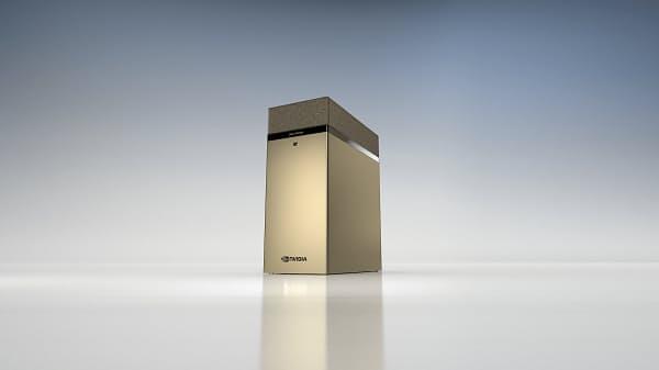 NVIDIA、ペタスケールワークグループ サーバー「NVIDIA DGX Station A100」を発表