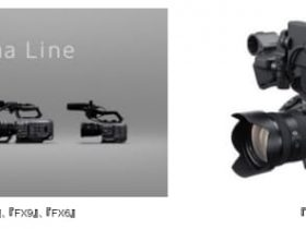 ソニー、「Cinema Line」からコンパクトな映像制作用カメラ「FX6」を発売