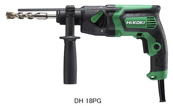工機HD、「HiKOKI」からロータリハンマドリル「DH 18PG」を発売