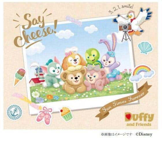オリエンタルランド、東京ディズニーシーでダッフィー&フレンズの新しいレギュラーグッズ25種類を販売開始