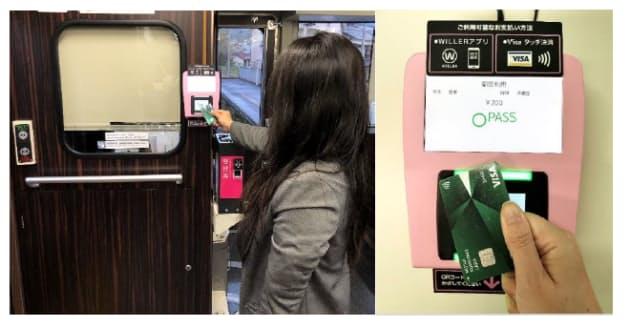 ウィラー・三井住友カードなど、鉄道でのVisaのタッチ決済によるキャッシュレス決済サービスを京都丹後鉄道で開始