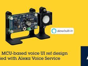STマイクロ、Alexa搭載スマート・ホーム機器の開発を簡略化するAmazon社認定のリファレンス設計を発表