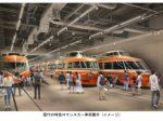 小田急電鉄、海老名駅隣接「ロマンスカーミュージアム」が2021年4月中旬に開業
