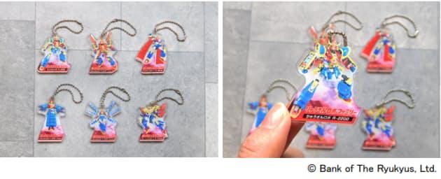 琉球銀行とタカラトミーアーツ、琉球銀行のオリジナルキャラクター「りゅうぎんロボ」
