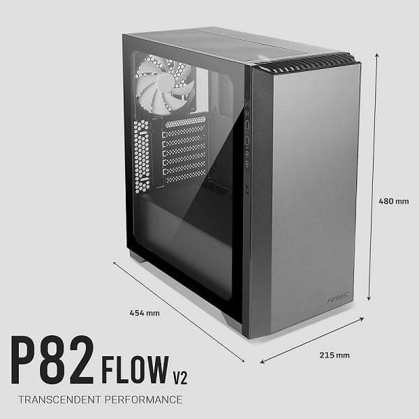 リンクス、ミドルタワーPCケース「Antec Performance Series P82 Flow V2」